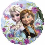 Jégvarázs - Anna és Elza fólia lufi 43 cm