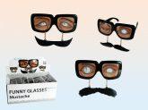 Szemüveg bajusz láncon