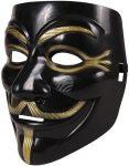 Anonymus maszk - fekete