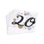 20-as lufis szalvéta