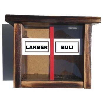 Lakbér / Buli persely
