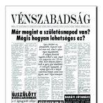 Vénszabadság újság