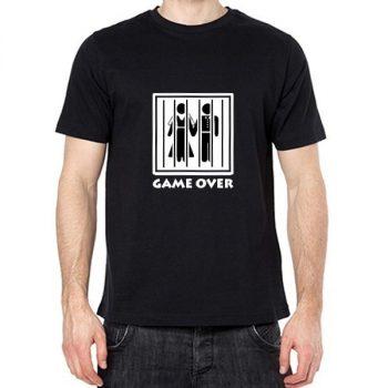 Game over fekete póló XXL-es