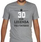 30-as Legenda folytatódik XXL-es