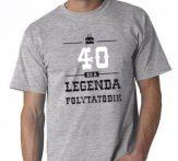 40-es Legenda folytatódik póló XXL-es
