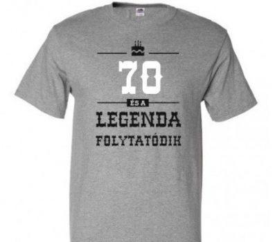 70-es Legenda folytatódik póló XXL-es