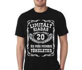 20-as Limitált kiadás póló M-es