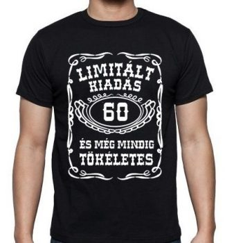 60-as Limitált kiadás póló XXL-es
