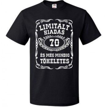 70-es Limitált kiadás póló L-es