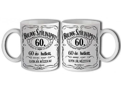 60-as Jack Daniels bögre