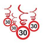 30-as függő dekoráció
