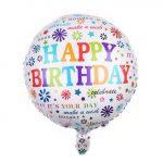 Happy Birthday - It's your day! fólia lufi 45 cm