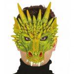 Zöld sárkány maszk