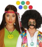 Színes hippi nyaklánc