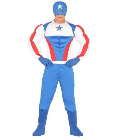 Amerika kapitány jelmez M-es