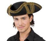 Kalóz trikorn kalap