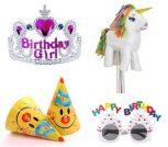 Születésnapi partikellékek